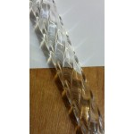 (25/13ST) 25mm x 6mm x 1000mm Spiral Acrylic Tube